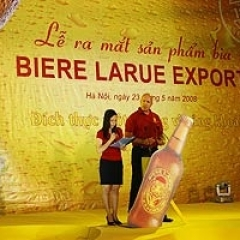 Lễ ra mắt sản phẩm - Bia LARUE EXPORT