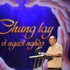 """""""Chung tay vì người nghèo"""" Hà Nội - TP.Hồ Chí Minh"""